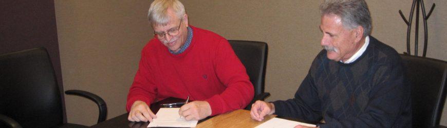 WWOA Signs Memorandum of Understanding with WDNR