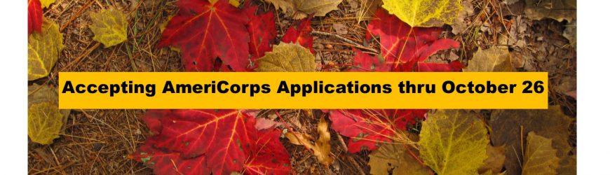 AmeriCorps Volunteer Coordinator Position Open!