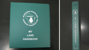 front and side view of My Land Handbook